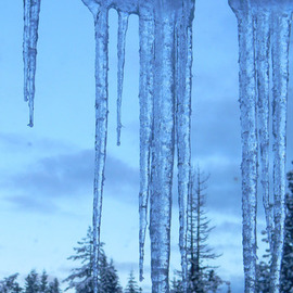 Debbi Chan: 'many ices', 2010 Color Photograph, Landscape. Artist Description:            photos from Idaho.           ...