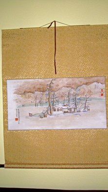 Artist: Debbi Chan - Title: my old home - Medium: Watercolor - Year: 2010