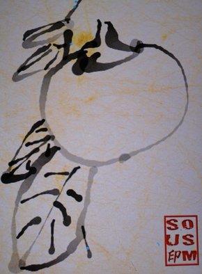 Debbi Chan Artwork my persimmon, 2011 Digital Art, Botanical