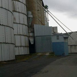 old grain bins in kendrick