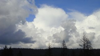 Color Photograph by Debbi Chan titled: one big cloud, created in 2010