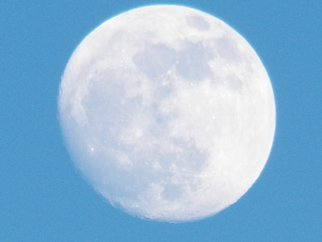 Artist: Debbi Chan - Title: one big lunar surprise - Medium: Color Photograph - Year: 2012