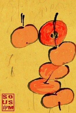 Debbi Chan Artwork palette of plump cherries, 2011 Digital Art, Botanical