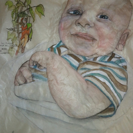 portrait of baby Nathan