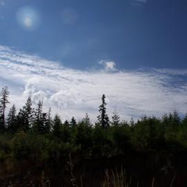 sky on the world