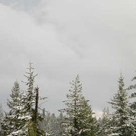 Debbi Chan: 'small winter storm approaches', 2010 Color Photograph, Koran. Artist Description:    photos from Idaho. ...