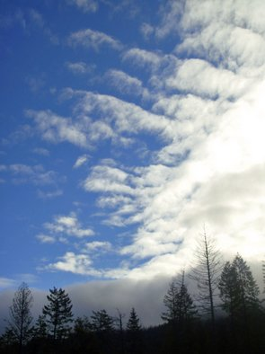 Color Photograph by Debbi Chan titled: spring snow cloud, 2010