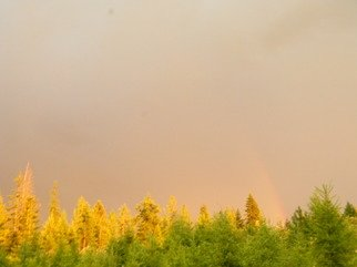 Artist: Debbi Chan - Title: sun rain and rainbow for all to see - Medium: Color Photograph - Year: 2011