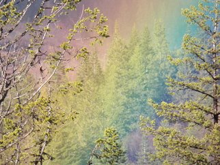 Debbi Chan Artwork the end of a rainbow, 2012 Color Photograph, Beauty