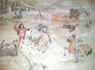 Debbi Chan Artwork the last Nez Perce War album, 2014 Artistic Book, War