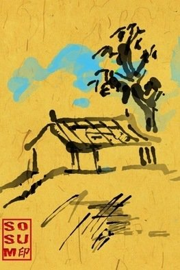 Debbi Chan Artwork three seasons of tree , 2011 Digital Art, Landscape