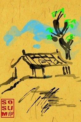 Debbi Chan Artwork three seasons of tree spring, 2011 Digital Art, Landscape
