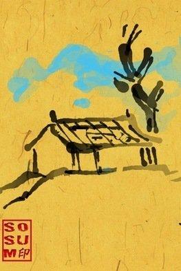 Debbi Chan Artwork three seasons of tree winter, 2011 Digital Art, Landscape