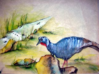 Artist: Debbi Chan - Title: turkey - Medium: Watercolor - Year: 2010
