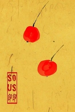 Debbi Chan Artwork two cherries, 2012 Digital Art, Botanical