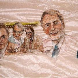 varied faces of Charlie Rose