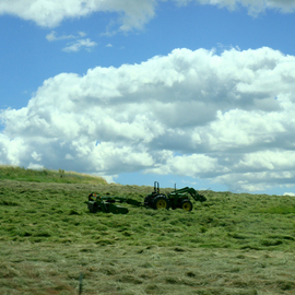 Debbi Chan: 'working', 2010 Color Photograph, Landscape. Artist Description:        photos from idaho.                                                                                  ...