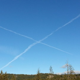Debbi Chan: 'x mark', 2013 Color Photograph, Clouds. Artist Description:   Photos from Idaho.                                                                                                                                                                                     ...