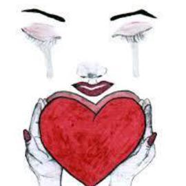 Naomi Johnson Artwork Tears Of A Broken Heart Original Pastel Oil