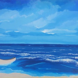 Blue Horizon By Gregory Roberson