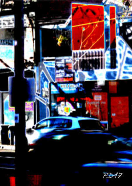 Artist Peter Dunckelmann. 'Downtown' Artwork Image, Created in 2017, Original Photography Digital. #art #artist