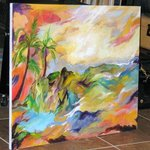 Tropical splendor  By Nancy Goodenow