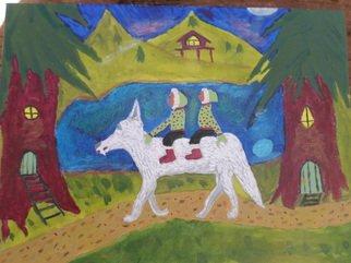 Kelly Etheridge Artwork Little People of the Forest, 2015 Little People of the Forest, Spiritual