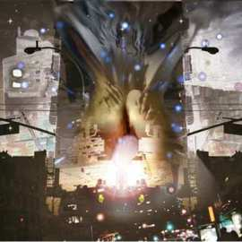 Donald Vance: '::downtowN::', 2007 Other Photography, Inspirational. Artist Description:  digitally edited graphic photography ...