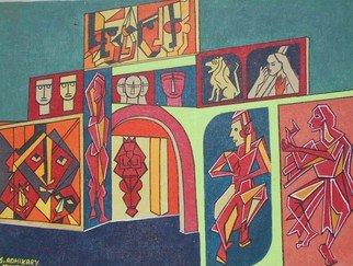 Shribas Adhikary Artwork INDIAN CULTURE EVENT, 2015 INDIAN CULTURE EVENT, Abstract Figurative
