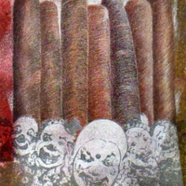 Kenneth Coleman Artwork cigar91, 2011 Mixed Media, Undecided