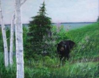 Susan Carmicle Artwork 'Afternoon Stroll', 2004. Acrylic Painting. Animals. Artist Description: Acrylic Painting on Canvas Board......