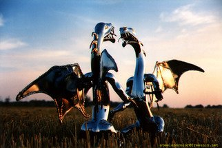Henning Block: 'steeldragons', 2010 Steel Sculpture, Abstract Figurative. Artist Description: