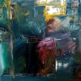 Stefan Fiedorowicz: 'A Visceral Expression', 2015 Oil Painting, Abstract. Artist Description:  lyrical abstraction, abstract art, contemporary art, Stefan Fiedorowicz,...
