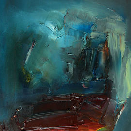 Stefan Fiedorowicz: 'Becoming the Person Who You Are', 2014 Oil Painting, Abstract. Artist Description: What keeps you from who you really are. ...