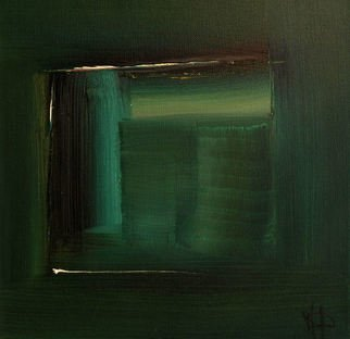 Stefan Fiedorowicz Artwork Colourless green Idea, 2017 Oil Painting, Abstract