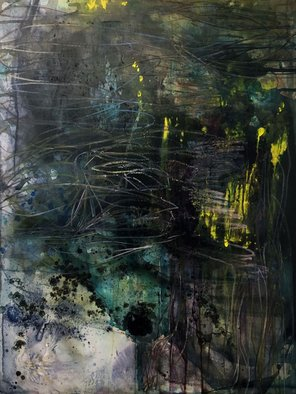 Stephanie Gonzalez Artwork the forest, 2016 Other Painting, Abstract
