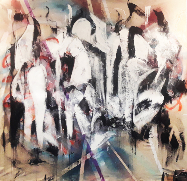steve doan artwork last supper original mixed media religious art