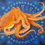 octopus mandala By Stephen Bibb