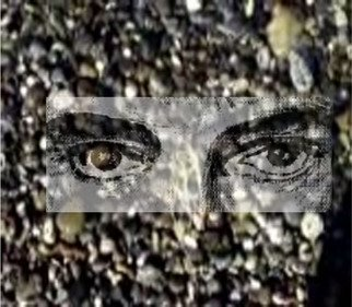 Stephen Mead: 'Immigrant Excerpt', 2010 Mixed Media, Movies.  PRINT ONLY.  ImmigrantExcerpt is a photomerge film still from a film which can be seen in on YouTube.  It is part of a series of collage- films begun in 2007.  The work is available as a print. ...