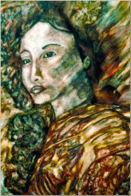 Stephen Mead: 'Shima', 1998 Watercolor, Healing. From the award- winning series