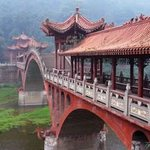 Bridge to the Temple Wu By Steve Scarborough
