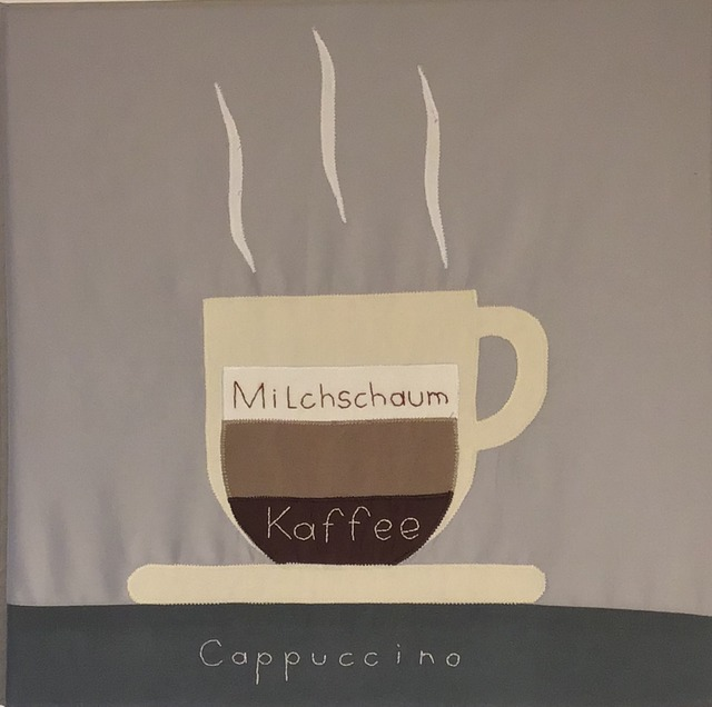 Stich-stich Gmbh  'Cappuccino', created in 2019, Original Painting Other.