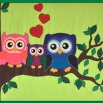 owl family By Stich-stich Gmbh