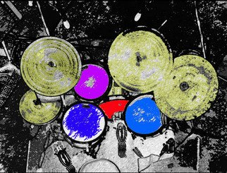 Artist: Cal Haines - Title: Drums Down - Medium: Color Photograph - Year: 2006