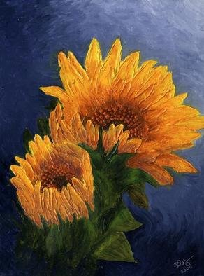 Artist: Robert St John - Title: Sunflower - Medium: Oil Painting - Year: 2009