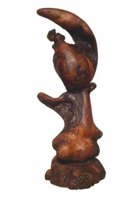 Daryl Stokes  'Little Me', created in 2010, Original Sculpture Wood.