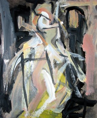 Artist: Romen Stoiloff - Title: Figure - Medium: Acrylic Painting - Year: 2012