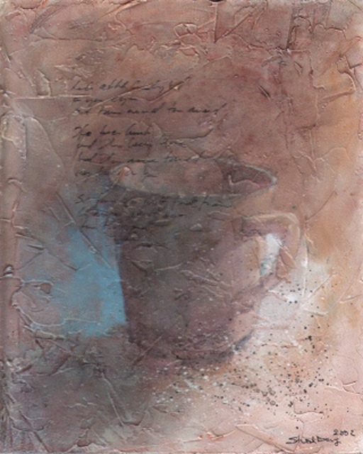 Thor-Leif Strindberg  'No Title 021025 8', created in 2002, Original Mixed Media.