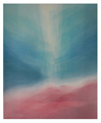 Ana Maria Studart: 'turquoise light', 2018 Watercolor, Light. Artist Description: Watercolor painting, veiled technique with 83 layers of paint. Turquoise Light is a painting inspired by the turquoise atmosphere. ...