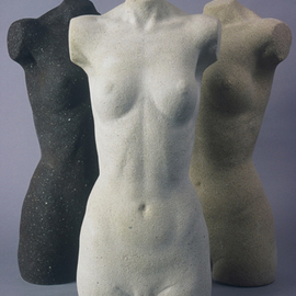Jon-joseph Russo: 'female torso', 2020 Marble Sculpture, Nudes. Artist Description: Female Torso originally in MarbleCast Stone Reproductions - For Sale...